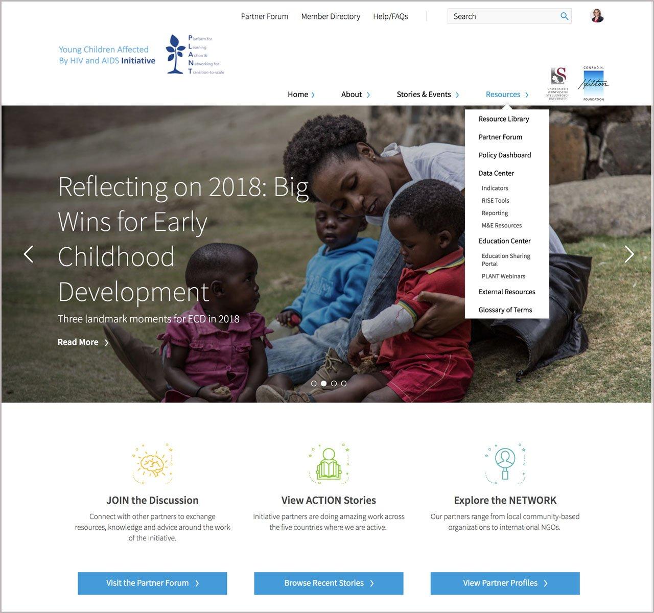 PLANT homepage